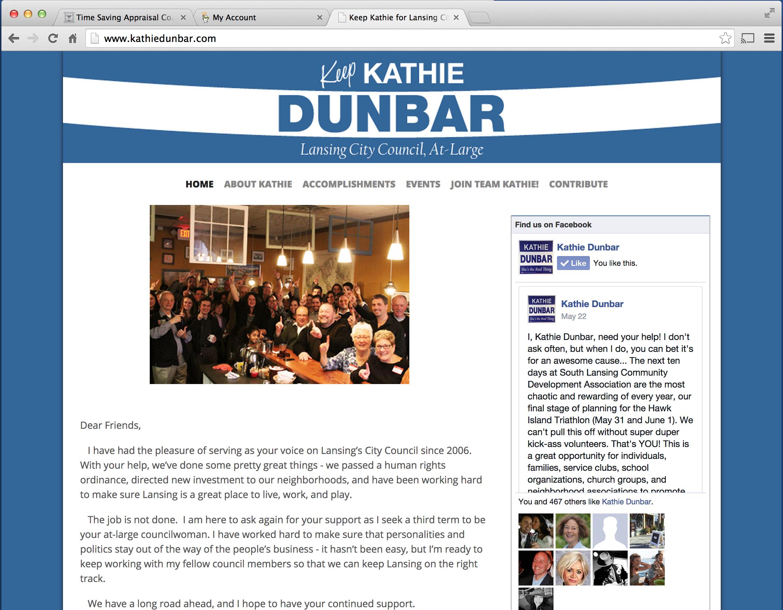 Vote For Kathie Dunbar Joe Manzella